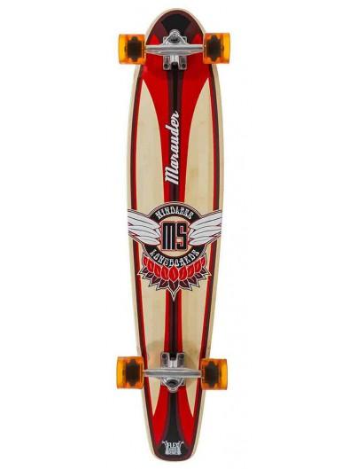 Mindless Marauder II 42.5'' Longboard Rood