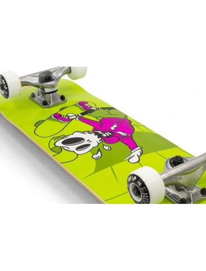 Skate Deal II Skully Green