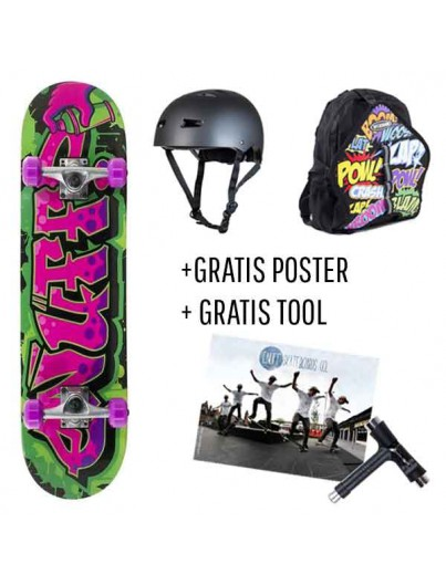 Skate Deal Graffiti Girls 4 t/m 7 Jaar