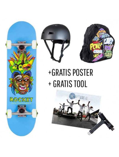 Skate Deal Rocket Tribal 4 t/m 7 Jaar