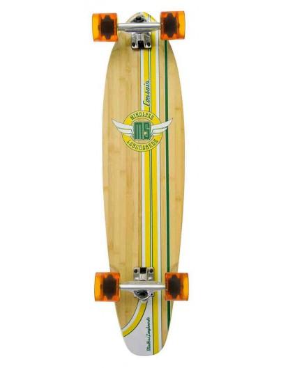 Mindless Corsair 38'' Longboard Groen + Helm