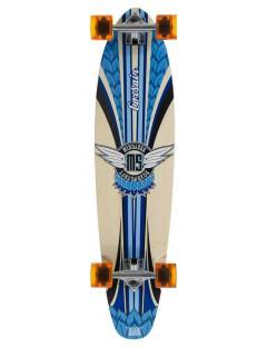 Mindless Corsair II 38'' Longboard Blauw + Helm
