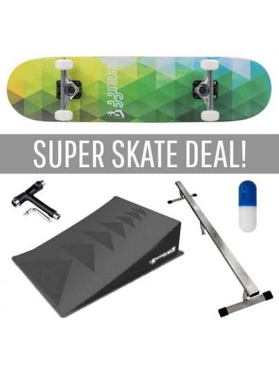 Super SkateDeal 8+ Enuff Geometric