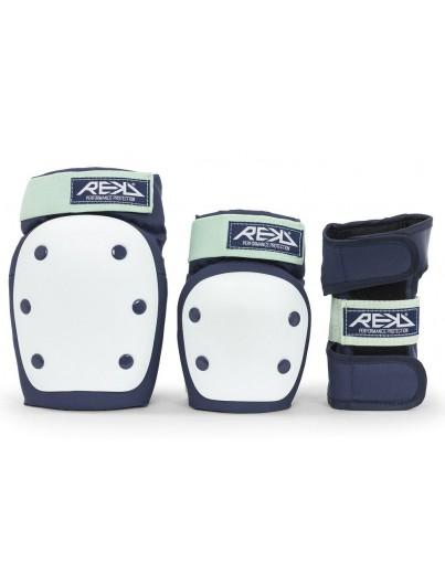 REKD Heavy Duty 3-Pack Bescherming Blauw-Mint