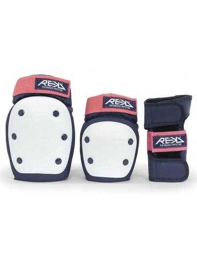 REKD Heavy Duty 3-Pack Bescherming Blauw-Roze
