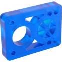 """Riser pads D-Street clear blauw 1/2"""""""