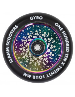 Slamm 110mm Gyro Hollow Core Stuntstep Wiel Neochrome