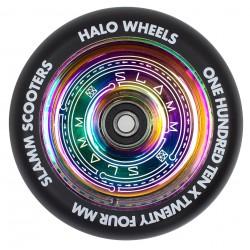 Slamm 110mm Halo Deep Dish Stuntstep Wiel Neochrome