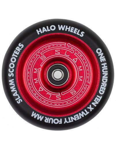 Slamm 110mm Halo Deep Dish Stuntstep Wiel Rood