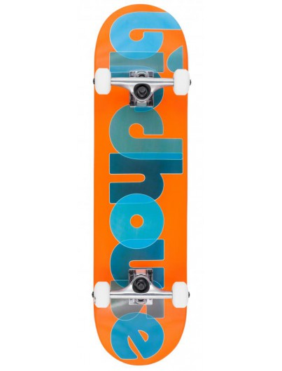 Birdhouse Stg 1 Opacity Orange 8'' Skateboard