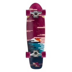 Mindless Sunset 28'' Cruiser Burgundy