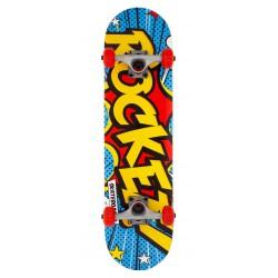 Rocket Popart 7.5'' Mini Skateboard