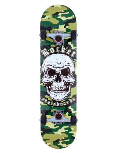 Rocket Combat Skull 7.75'' Skateboard