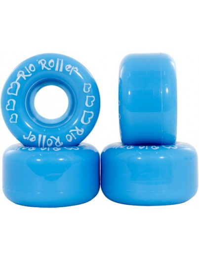 Rolschaats wielen Rio Roller blauw
