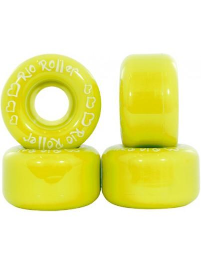 Rio Roller Wielen Rolschaatsen Geel