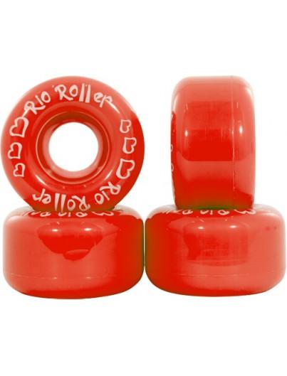 Rio Roller Wielen Rolschaatsen Rood