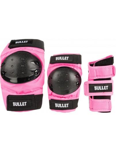 Bullet skate beschermset Junior roze