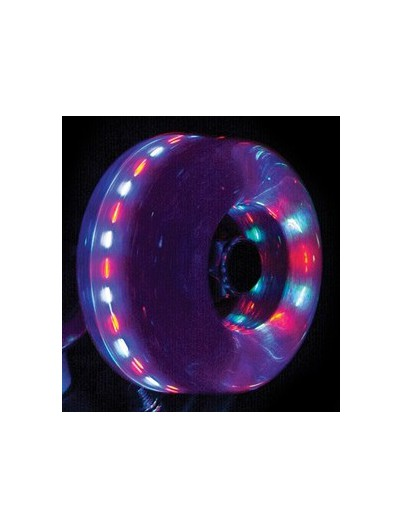 Rio Roller Light Up Wielen Pink Glitter 58mm