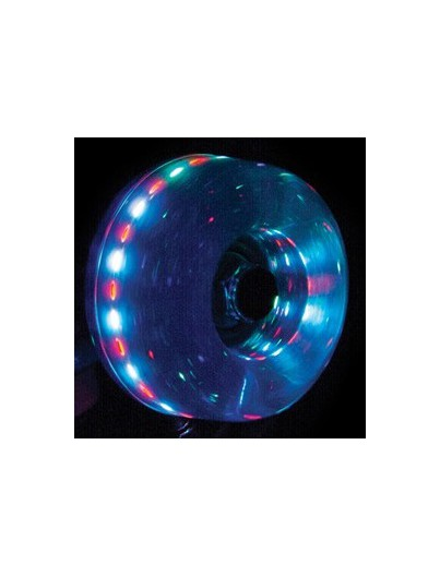 Rio Roller Light Up Wielen Blue Glitter 58mm