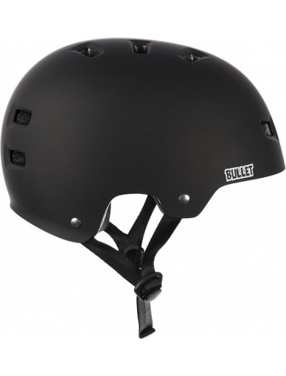 Skatehelm Bullet Deluxe zwart