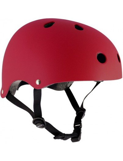 Skatehelm rood Essentials