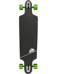Longboard drop through D-Street Hex groen
