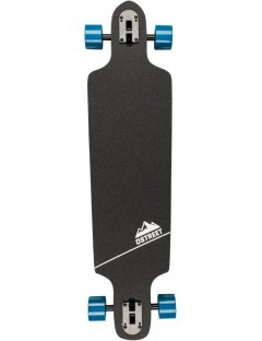 Longboard drop through D-Street Hex blauw