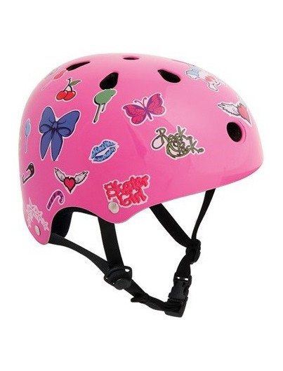 Skatehelm SFR Essentials Sticker Roze