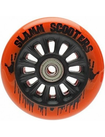 Slamm Scooters stuntstep wiel 100mm oranje