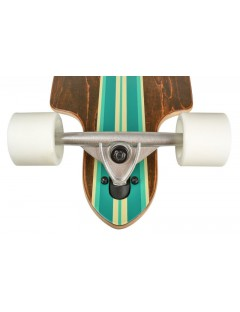 Longboard Saterno Mint Multi Stripe 38.0'' x 9.8''