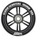Slamm Orbit 100mm Stuntstep Wiel Zwart