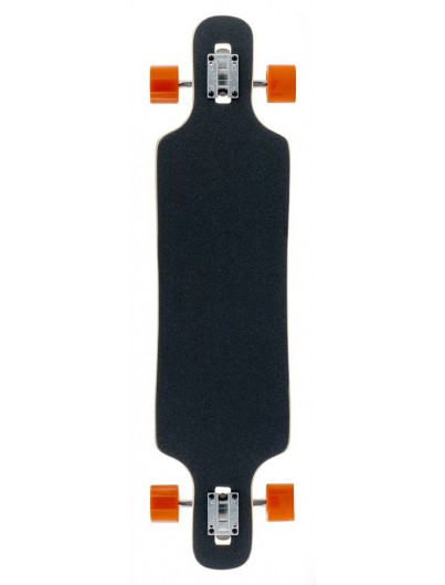 Mindless Sanke II 39'' Dropthrough Longboard Brown
