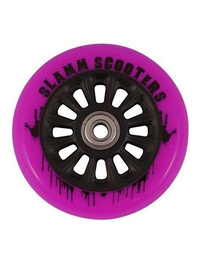 Slamm Scooter wielen NY-core 100mm roze