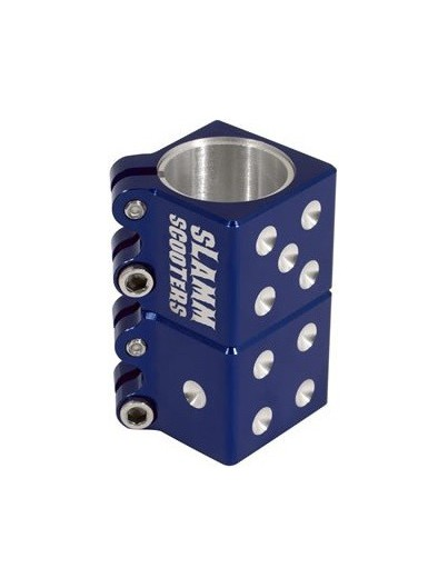 Slamm Dice Clamp Blauw