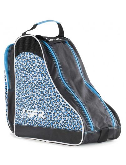 Schaatstas en skatetas SFR Blue Leopard