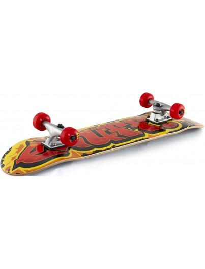 Enuff Graffiti 7.75 Skateboard Rood-Geel