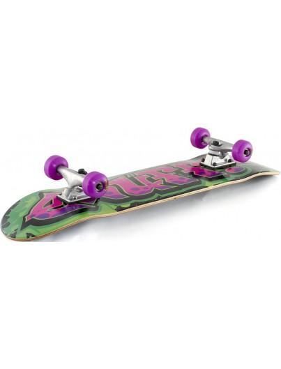 Enuff Graffiti 7.75 Skateboard Groen-Paars