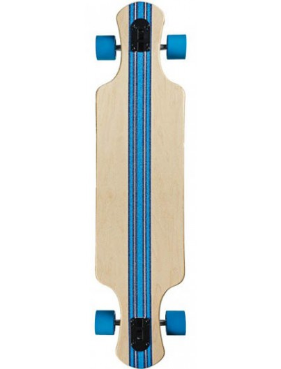 Saterno Ocean Coral Double Down Light 37.0 Longboard