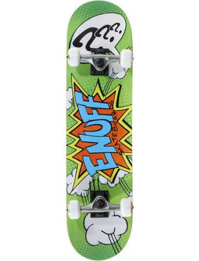"Enuff Pow Groen 7.25"" Mini Skateboard"