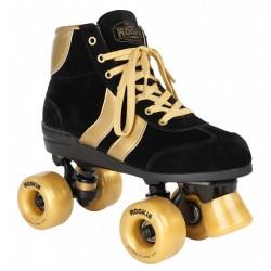 Rookie Rolschaatsen Zwart-Goud