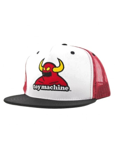 Toy Machine Monster Mesh Red Cap