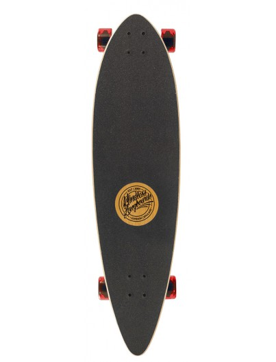Mindless Rogue III Pintail Longboard Kind Rood