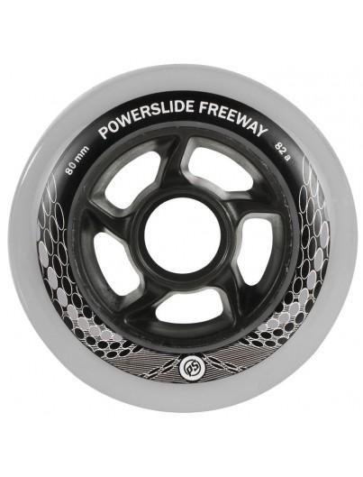 Powerslide Inline Skate Wielen 80mm/82A 4-pack