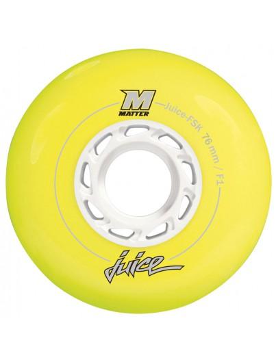 Matter Juice 76mm Inline Skate Wielen 4-pack