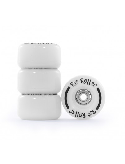 Rio Roller Light Up Wielen White Frost 58mm