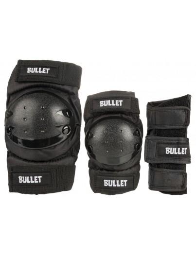 Bullet Beschermset Junior Large (9-12j) Zwart