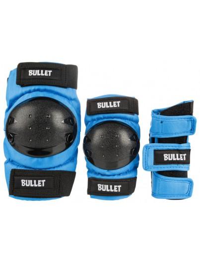 Bullet Beschermset Junior Large (9-12j) Blauw