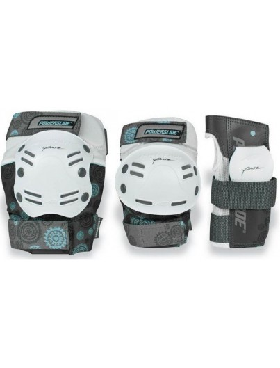 Powerslide Pure 3-pack Wit Extralarge