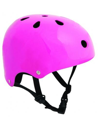 Skatehelm SFR Essentials Fluor Roze