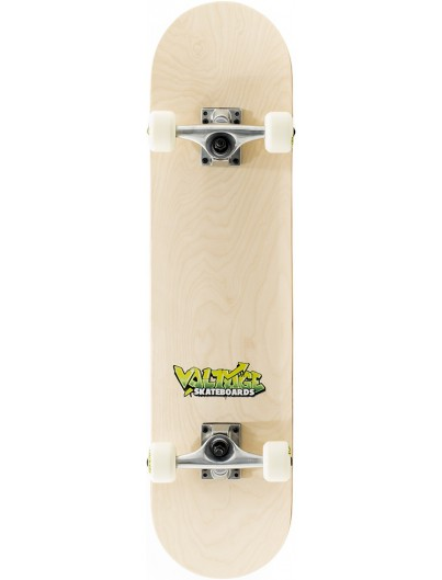 Voltage Logo 7.5 Skateboard Natural